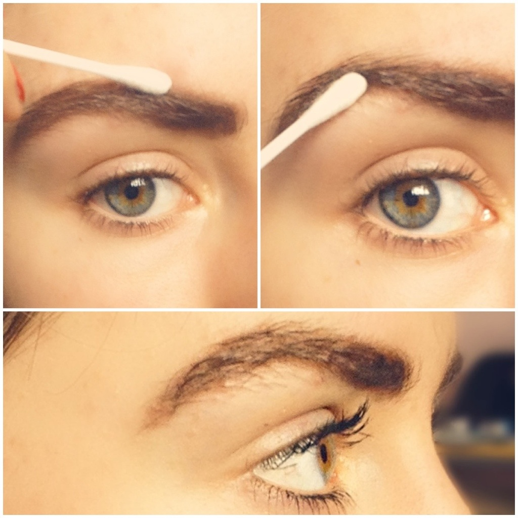 how to make your eyebrows look darker